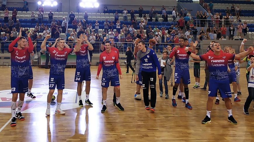 Гандболисты СКА победили БГК имени Мешкова в чемпионате Беларуси