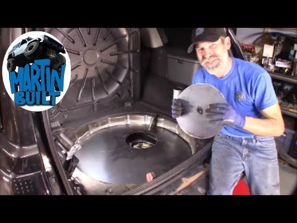 How to Fuel Tank Tuck a 99 04 Jeep Grand Cherokee WJ Part 1