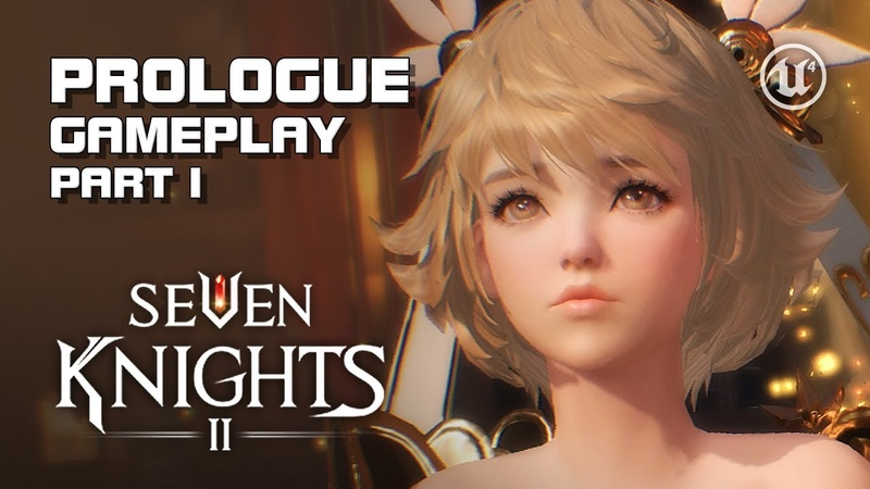 Seven Knights 2 - Prologue Gameplay Part 1 - Android on PC - F2P - Mobile - KR