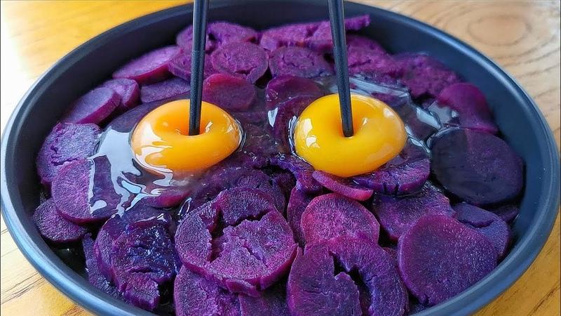 入冬後要多吃紫薯,教你好吃做法,筷子攪一攪,出鍋孩子搶著吃! 2356