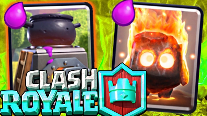 Clash Royale NO SPELL Furnace Deck