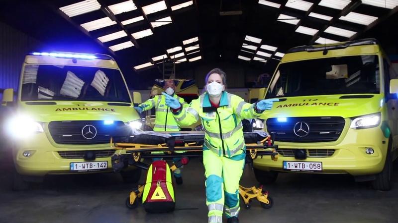 Anderhalf meter door Ambulancecentrum Oost-Vlaanderen
