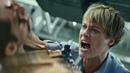 Terminator: Dark Fate Grace vs Rev-9 Factory Fight Scene
