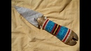 Adding Plaited Porcupine Quillwork to a Flint Blade Pt 2