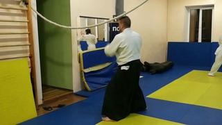 Aikido hands deflection (suri age and ukenagashi)