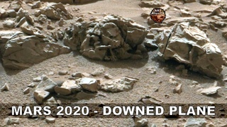 MARS 2020 - DOWNED PLANE Found - Pilot in Wreckage - ArtAlienTV
