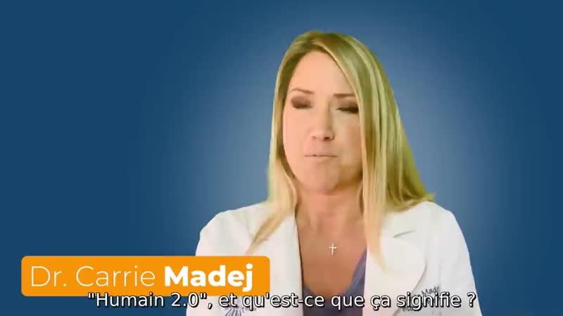 🛑Dr Carrie Madej💉 Sonnette dalarme sur le vaccin covid 19 le transhumanisme et la nanotechnologie
