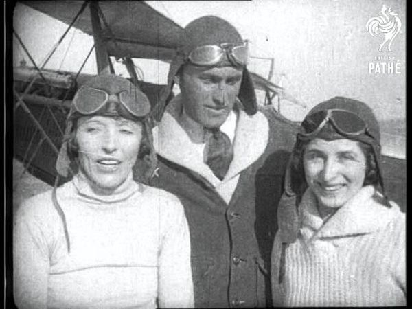 Plane Girls AKA Aeroplane Stunt Women 1931