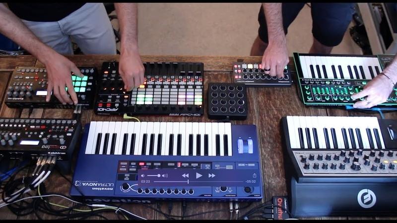 WABE Melodic Techno Live Studio Session 6 Moog Sub Phatty Elektron Analog RYTM Analog 4 Ableton