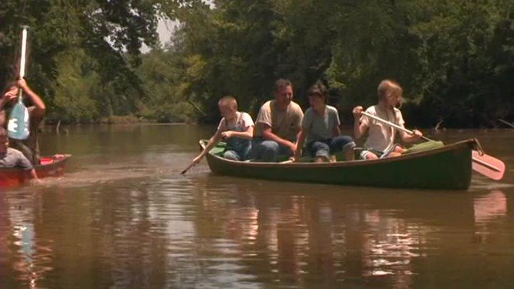 Шугер Крик Огромная рыба каноэ Sugar Creek Gang Great Canoe Fish 2004 приключения семейный