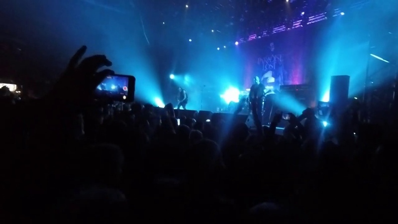 Paradise Lost Forever Failure Live in Moscow 2020