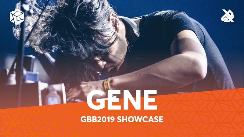 GENE SHINOZAKI Grand Beatbox Battle Showcase 2019