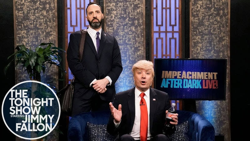 Impeachment After Dark Gary from Veep Is Trump's New Assistant