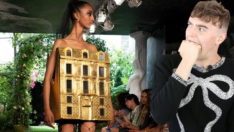 DIOR COUTURE IS DEAD Reacting to Dior Schiaparelli Iris Van Herpen