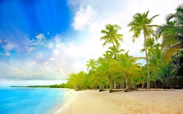 Обои Для Рабочего Стола Море Пляж