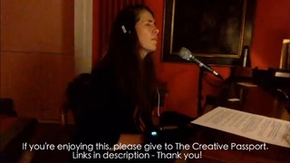 iamamiwhoami fountain by Imogen Heap - live improv for The Creative Passport no 3