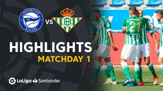 Highlights Deportivo Alavés vs Real Betis (0-1)