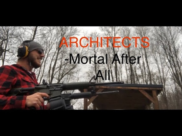 Architects - Mortal After All, Gun Cover!