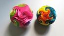 Twirl star ball (EzyCraft) - How to make a ball of starfish and star rose - EzyCraft