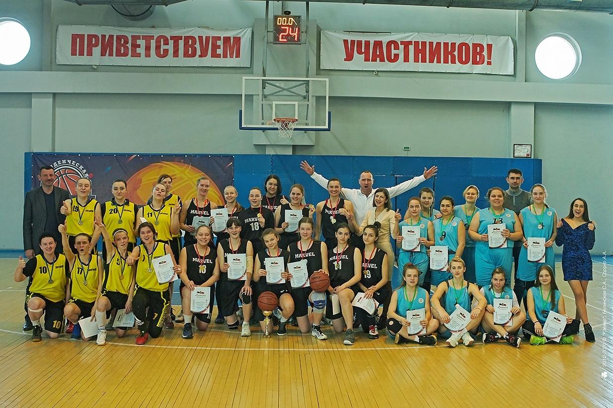 В Донецке состоялся «Финал четырёх» по баскетболу среди женских команд