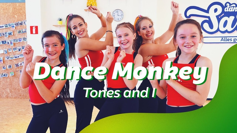 DANCE MONKEY - TONES AND I | Dance Video | Choreography | Easy Kids Dance
