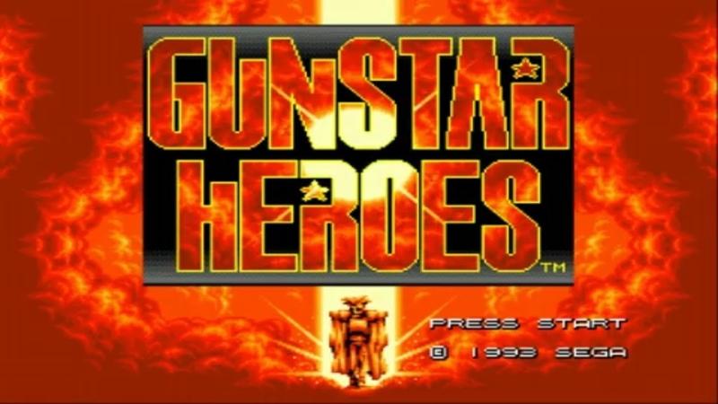 Gunstar Heroes (SEGA) Прохождение