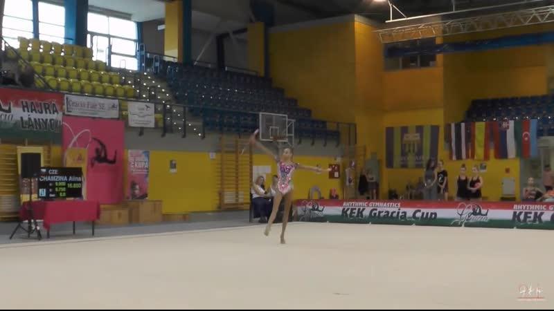 Гузенкова Анастасия - булавы (многоборье) Gracia Fair Cup 2019