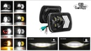 Colight New In 5x7 Rectangle Headlights - E9 DOT Marked/ DRL