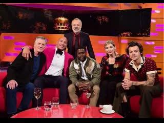 Harry styles interview on bbc graham norton 6 december 2019 [rus sub]