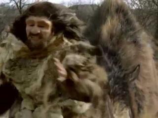 Woolly Rhinoceros vs Neanderthal - Шерстистый носорог против Неандертальца [RUS]