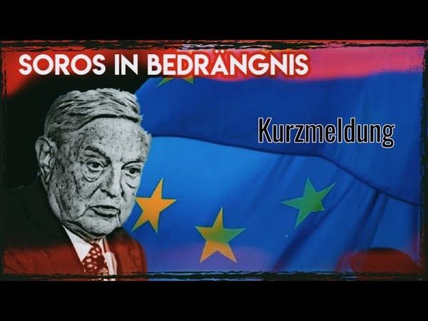 Soros in Bedrängnis Angst um sein Überleben und Ende der EU