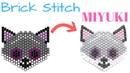 Como hacer un Zorro con Brick Stitch Miyuki Delica