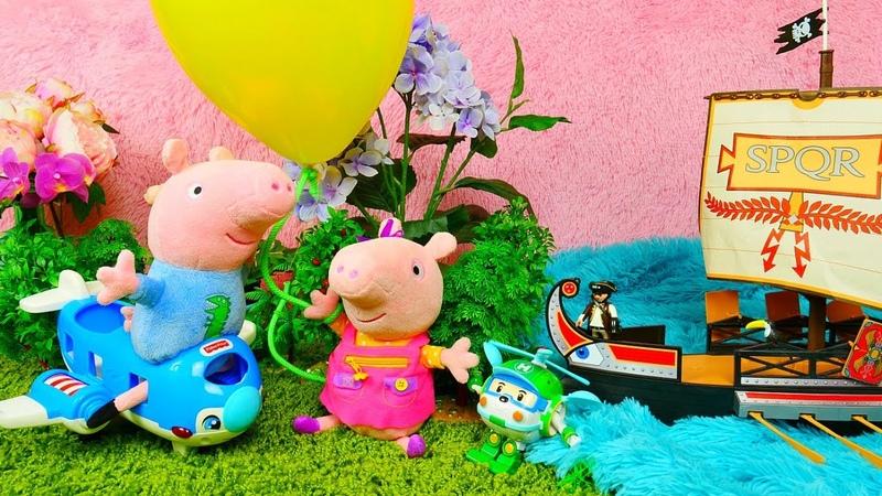 A Peppa Pig se perdeu no bosque encantado Peppa Pig e sua família em português