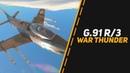G.91 R/3 АВАТАР ШТУРМОВКИ НА 8.7 в War Thunder