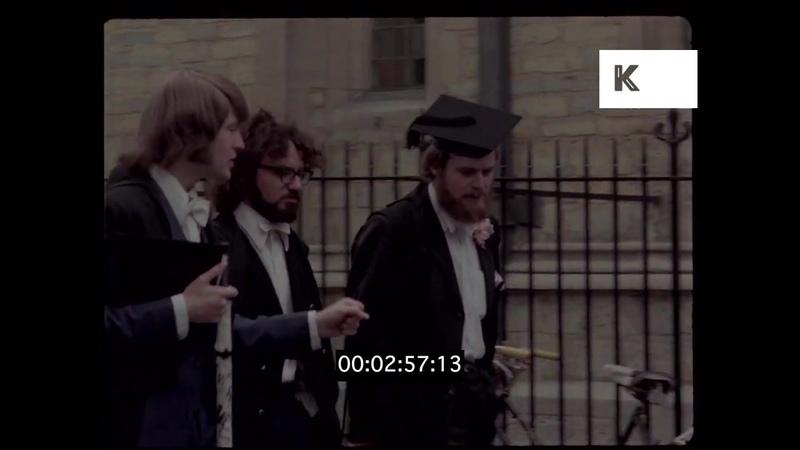 1970s Oxford Street Scenes, University Colleges, UK, 35mm