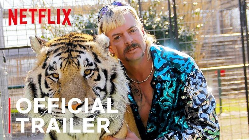 Король тигров Убийство хаос и безумие Офиц трейлер 2020
