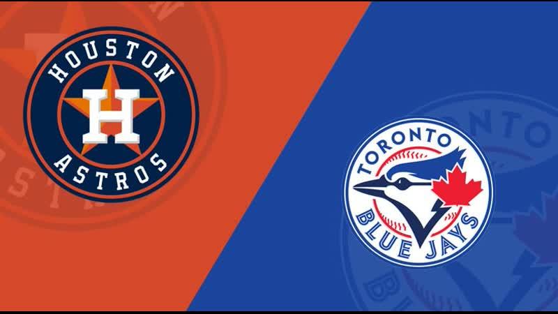 AL / 30.08.2019 / HOU Astros @ TOR Blue Jays (1/3)