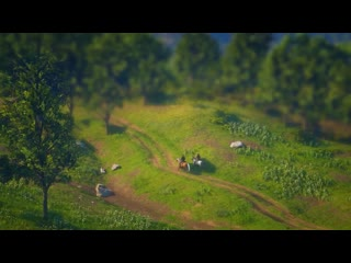 The world of red dead redemption 2 miniaturised