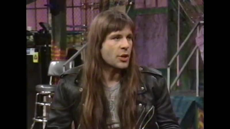 Bruce Dickinson interview 1992
