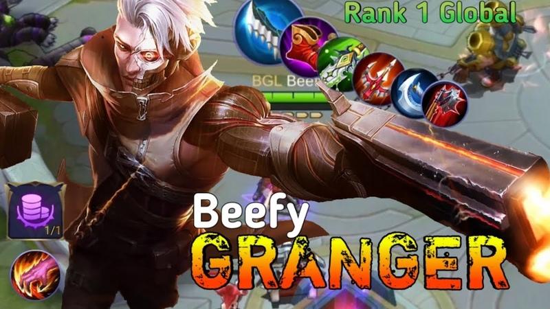 Топ 1 Глобал Грейнджер Top 1 Global Granger Mobile Legends