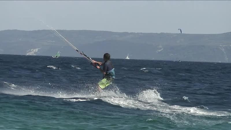 Kite surfing @ zlatny rat