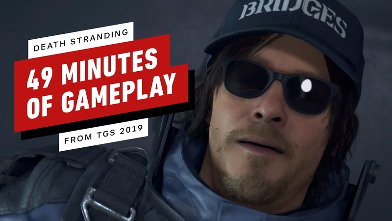 Death Stranding: 49 Minutes of New Gameplay (Japanese VO) - TGS 2019