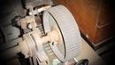 Обрезиненное колесо на гриндер из ремня Грм