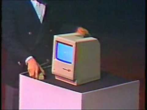 The Lost 1984 Video: young Steve Jobs introduces the Macintosh