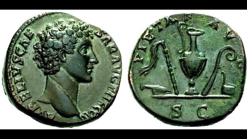 ✅Сестерций, 140 г. - 144 г., АНТОНИН ПИЙ, Sesterius, 140 - 144 AD, ANTHONY Pius👍