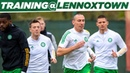 The Bhoys are gearing up for the Italian Job! Celtic train ahead of UEL opener against AC Milan