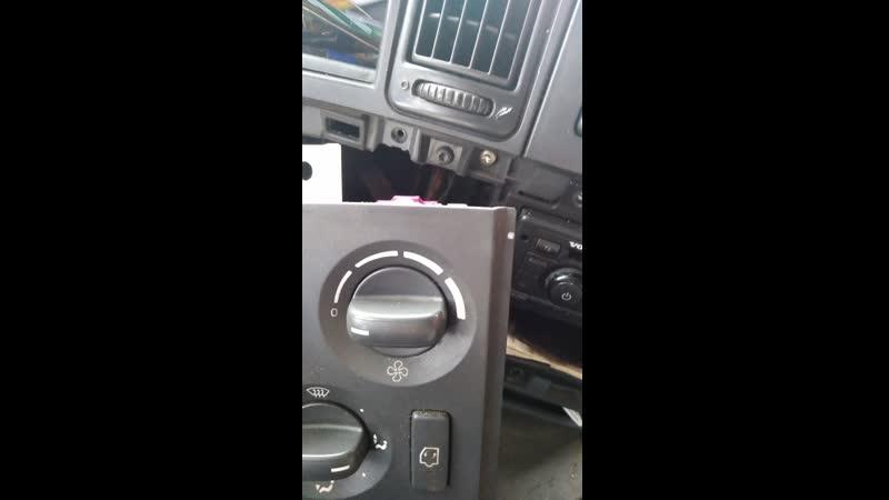 Отключение обдува стёкол Volvo FH при работующей автономки