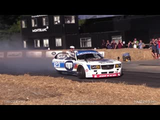 Mad mike`s crazy 26b quad-rotor mazda rx-7 spitting huge flames @ goodwood fos!