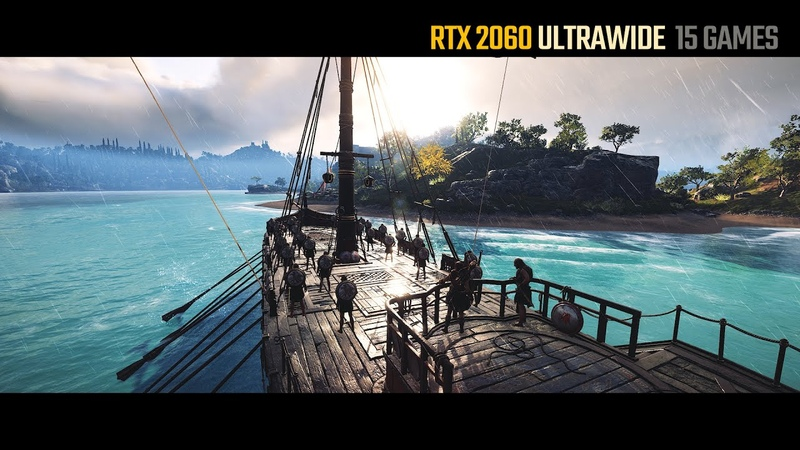 RTX 2060 Ultrawide 3440x1440 (Test in 15 Games)