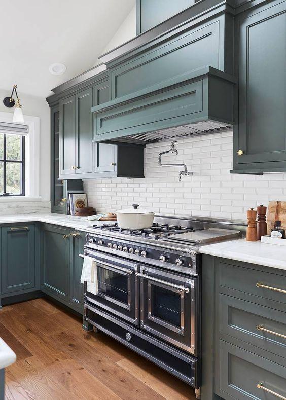 Как Вам такой цвет кухни